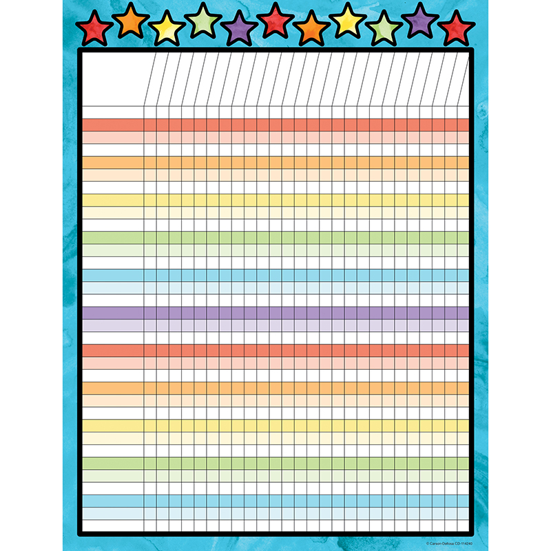 Celebrate Learning Incentive Chart - image 1 de 1