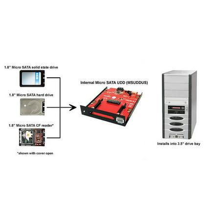Micro SATA Removable Drive Cartridge for 3.5 Inch Drive Bay