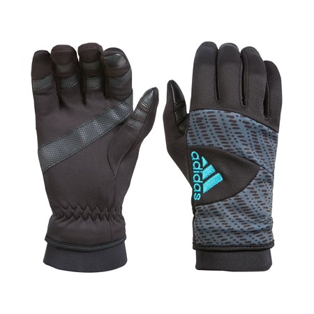 adidas Women's Mequon Performance Gloves (Blue, M) Adidas Field Players Gloves