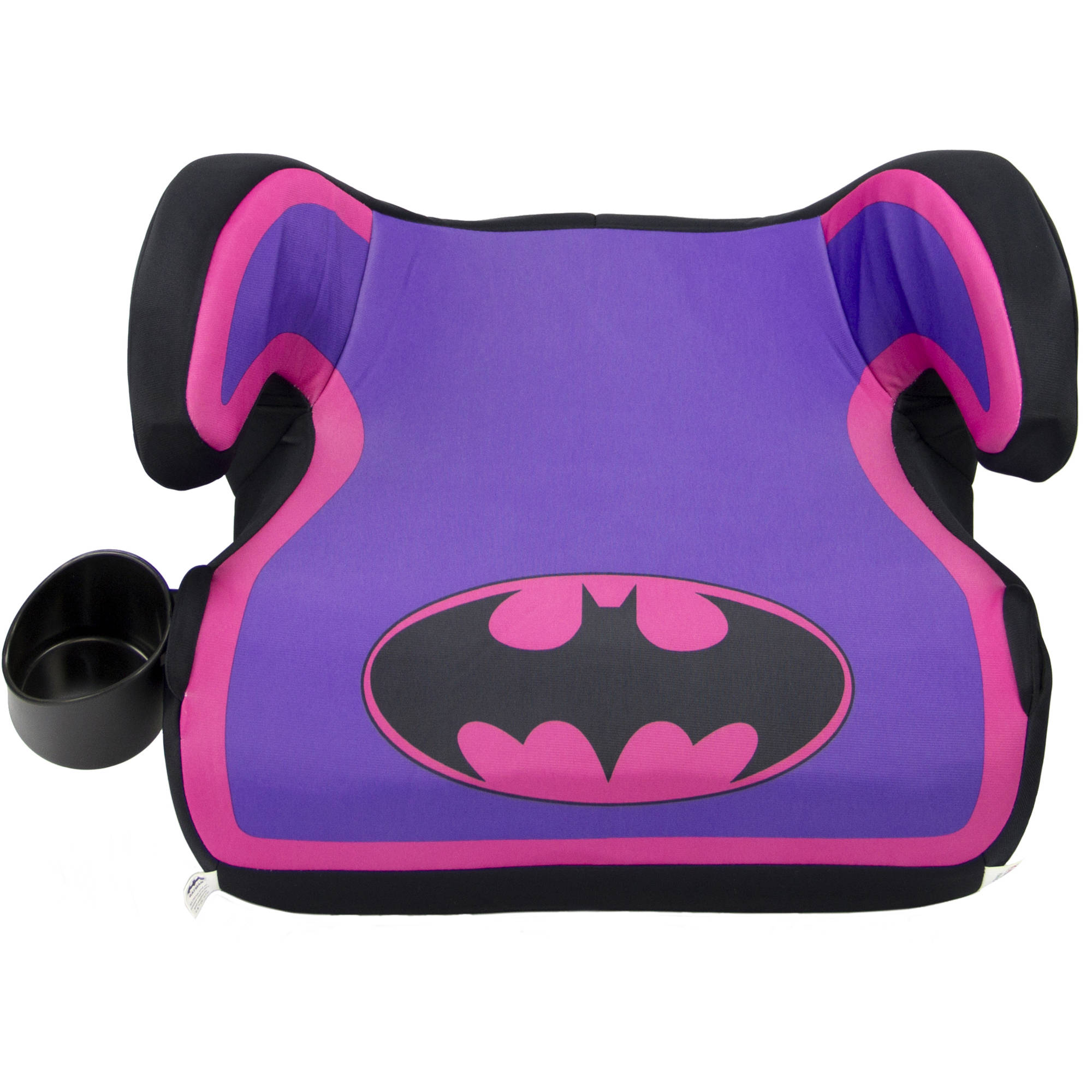 KidsEmbrace Fun-Ride Backless Booster Car Seat, Batgirl