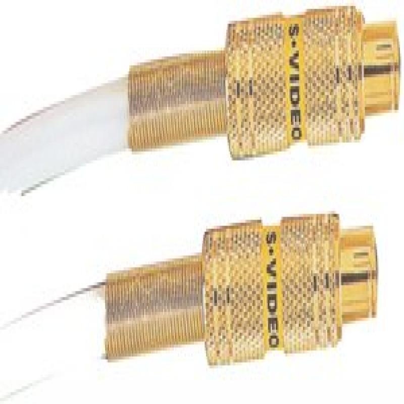 RCA DT12S Digital S-Video Cable, 24K gold-plated studio-grade connector (12 ft)