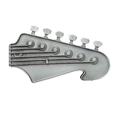 Fender Guitar Head Novelty Belt Buckle Bass Guitar Head Belt Buckle
