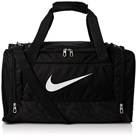 Nike Brasilia 6 Duffel Bag Black White Size Medium