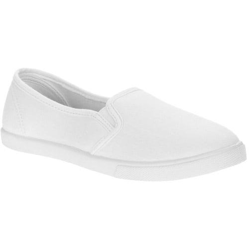Canvas Slip-On Shoes - Walmart