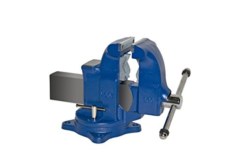 "Yost Vises 33C 5"" Combination Pipe and Bench Vise with 360-Degree Swivel Base, Made in US by Zenith Innovations Inc"