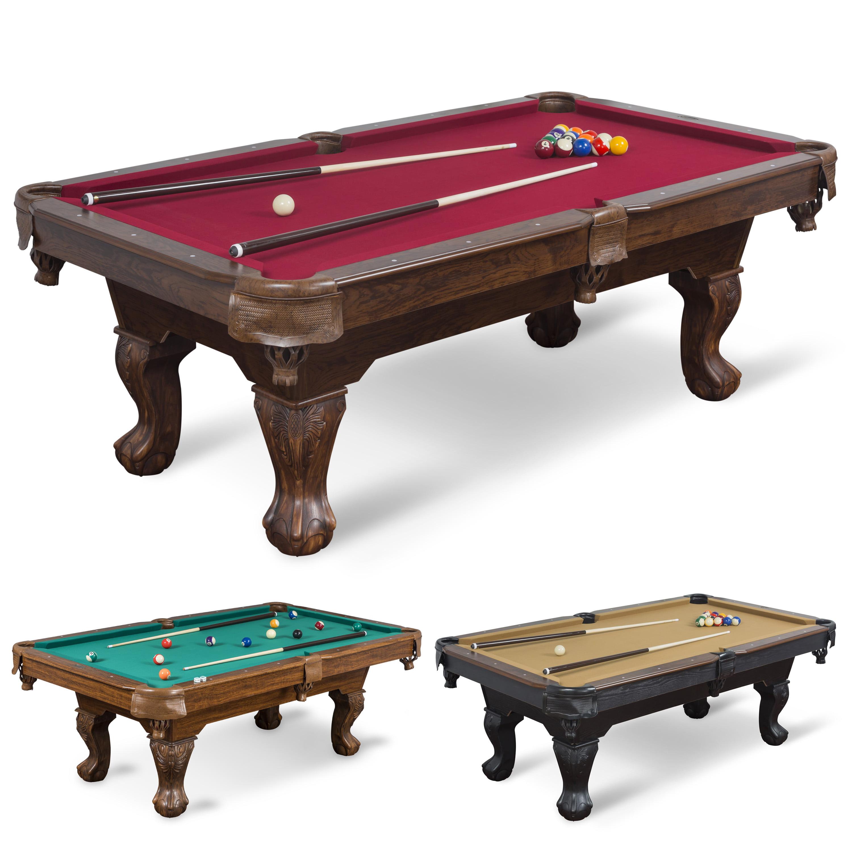 Classic Sport 87-inch (7ft. 3 in.) Brighton Billiard Table, Green