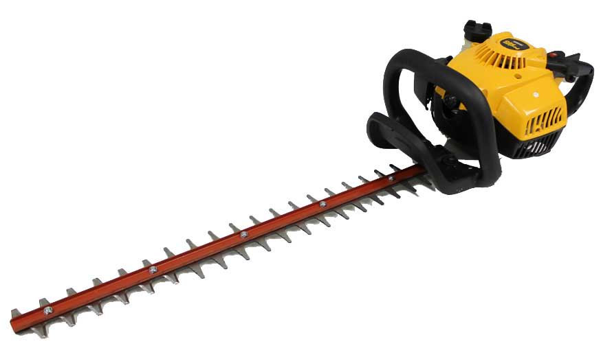 """Poulan Pro 28cc 22"""" Gas Powered Dual Action Hedge Trimmer Clipper Saw 