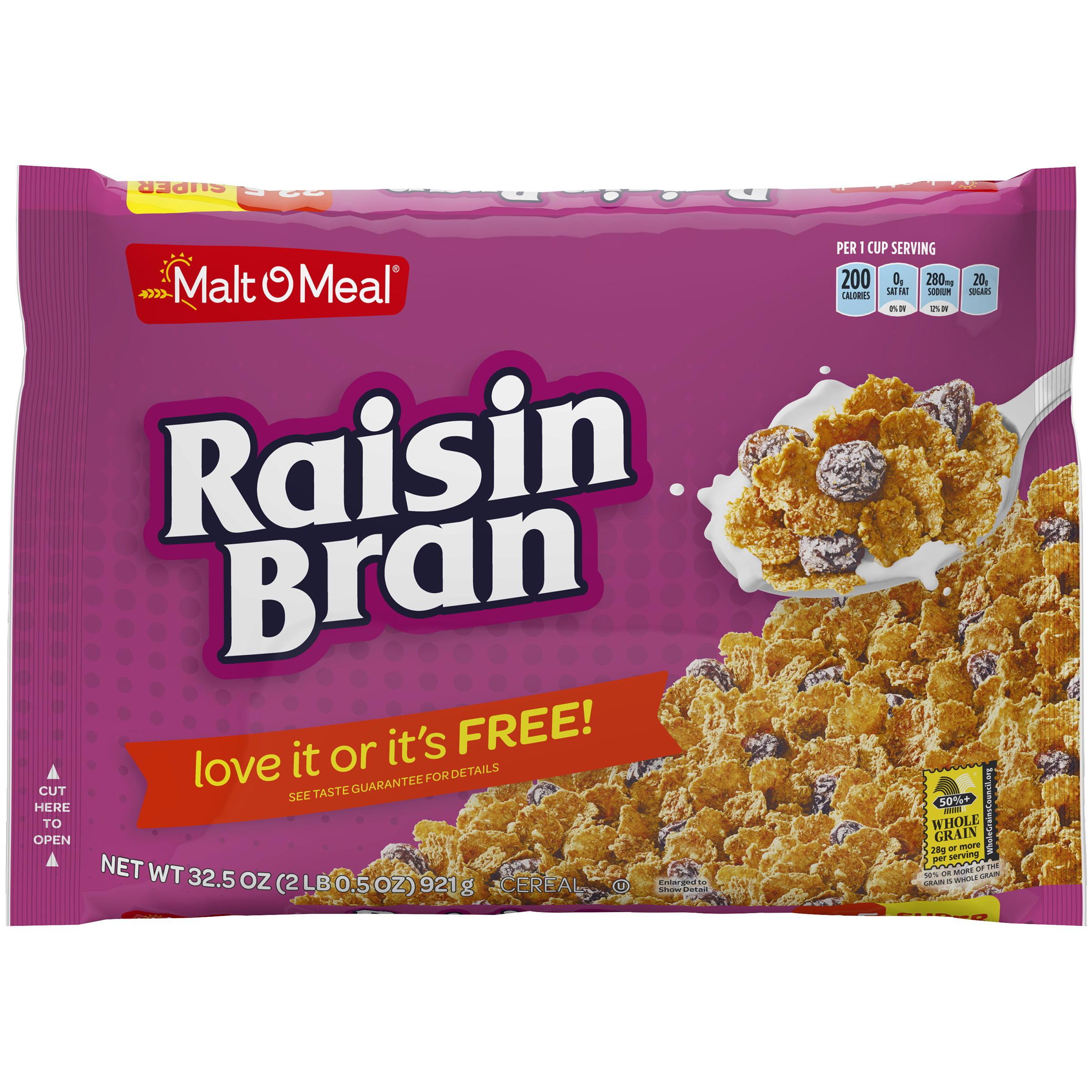 Malt o meal raisin bran cereal 325 oz bag walmart ccuart Choice Image