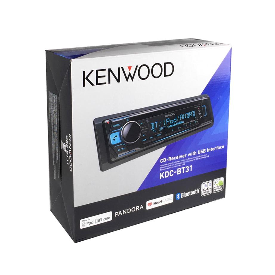 Kenwood KDC-BT31 Single DIN  In-Dash CD/AM/FM Car Stereo Receiver w/ Bluetooth