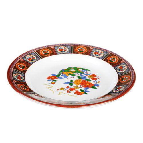 Bloomsbury Market Hendricks Melamine 7.88'' Appetizer Plate (Set of 12) by