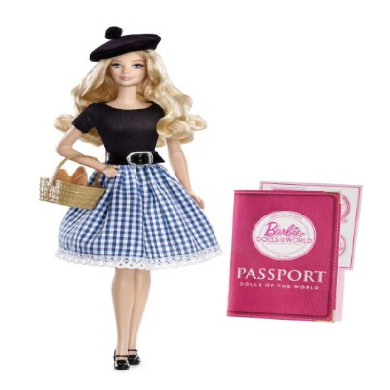 Mattel Barbie Collector Dolls of The World-France Doll