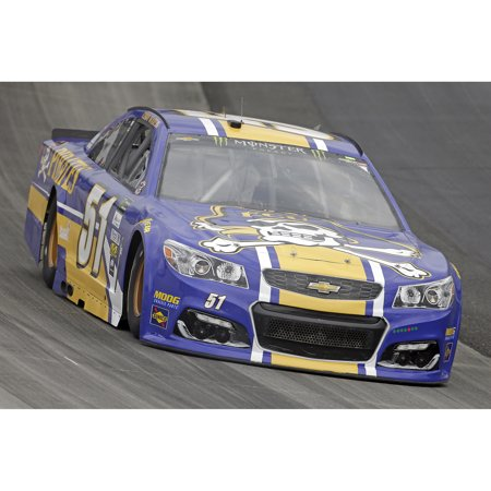 Cody Ware Action Racing 2017 #51 ECU 1:24 Monster Energy NASCAR Cup Series Gold Die-Cast Chevrolet SS - No Size
