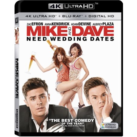 Mike And Dave Need Wedding Dates  4K Ultra Hd   Blu Ray