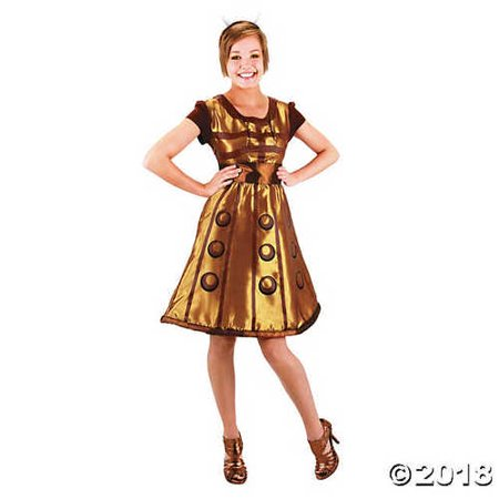 Women's Doctor Who Dress Dalek Costume - Large/Extra - Dalek Costume For Sale