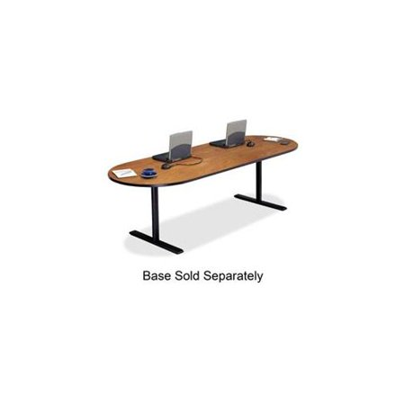 Bretford Laminate Conference Table Top Racetrack X X - 42 x 96 conference table
