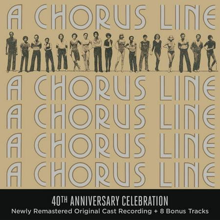 A Chorus Line 40th Anniversary Celebration (Newly Remastered Original Cast Recording + 8 Bonus Tracks) (CD) (8 Track Cd Quality Recording)