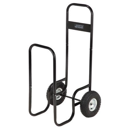 North Gear Log Caddy / Firewood Cart / Can Be Used as Portable Log Storage Rack
