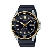 Casio Men's Dive Style Watch, Black-Gold