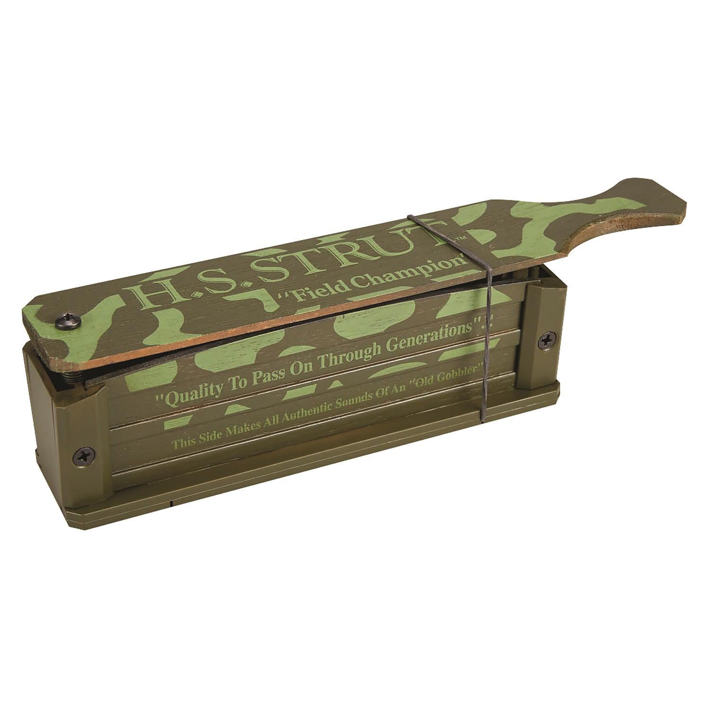 STRUT Hunter/'s Specialties Field Champion Box Call Green H.S