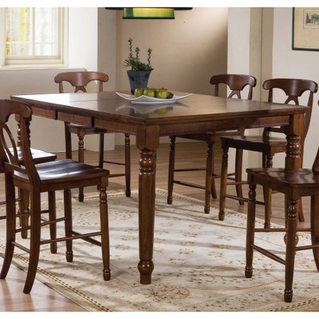 pelican point counter height dining table with 18 in butterfly leaf