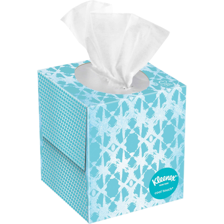 Kleenex, KCC29388CT, Cool Touch Facial Tissue, 27 / Carton, White