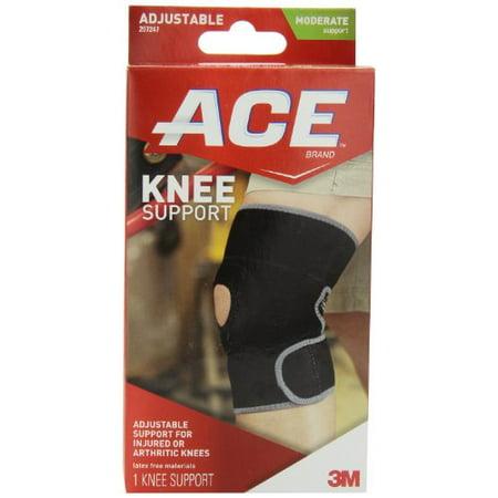 - 3 Pack - ACE Neoprene Knee Brace Open Patella One Size 1 Each
