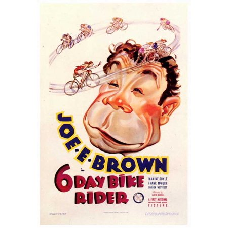 Dirt Bike Rider Halloween Costumes (6 Day Bike Rider POSTER (27x40))