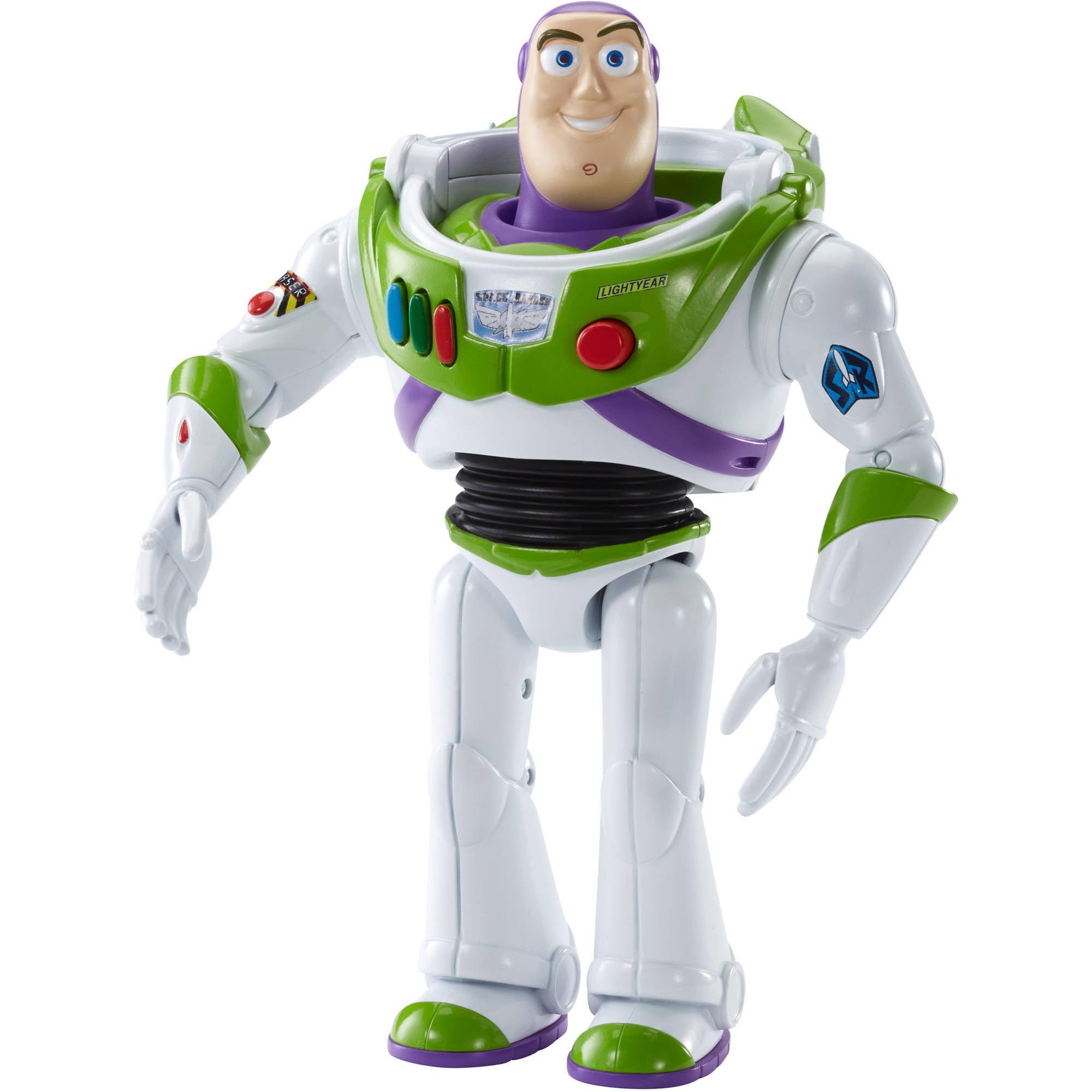 """Fisher-Price Disney Toy Story 6"""" Buzz Lightyear Figure with Sound"""