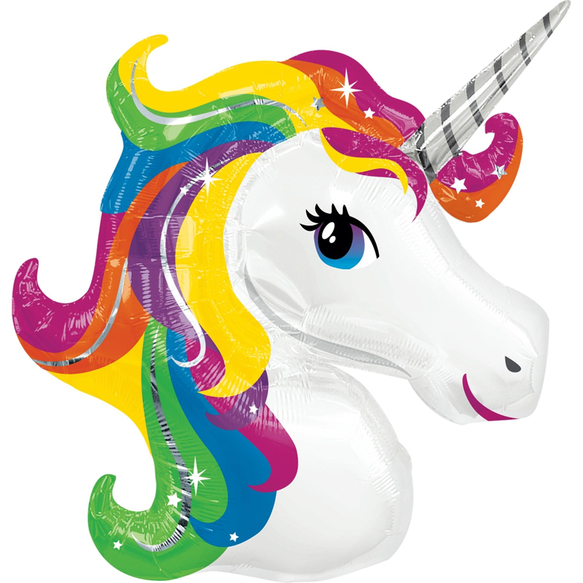 """Rainbow Unicorn Foil Balloon 33"""""""