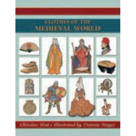 Clothes of the Medieval World (Costume history) (Paperback) - Medieval Clothing
