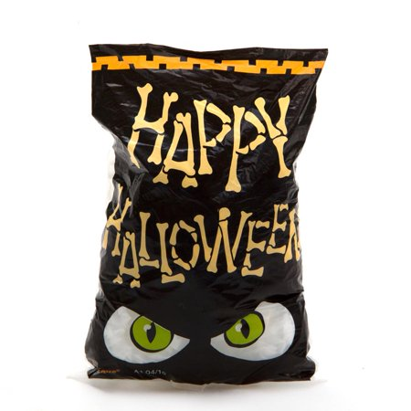 Mini Happy Halloween Cellophane Bags - Happy Halloween Hairstyle