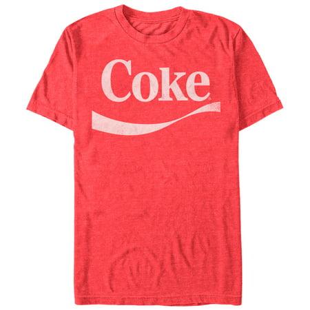 Coca Cola Men's Simple Logo - Coca Cola Presents