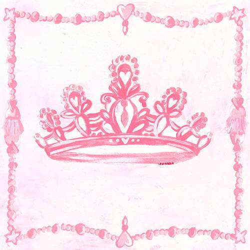 Oopsy Daisy Too's Princess Crown Canvas Wall Art, 21x21