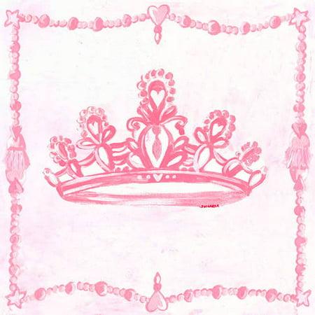 Oopsy Daisy Too\'s Princess Crown Canvas Wall Art, 21x21 - Walmart.com