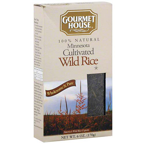 Gourmet House Wild Rice, 6 oz (Pack of 6)
