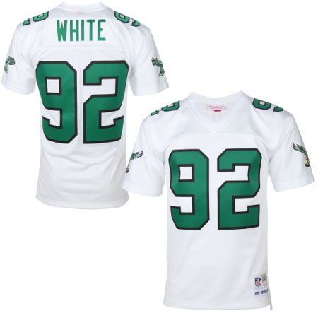 detailed look abbcd d8df5 Reggie White Philadelphia Eagles Mitchell & Ness Replica Retired Player  Jersey - White