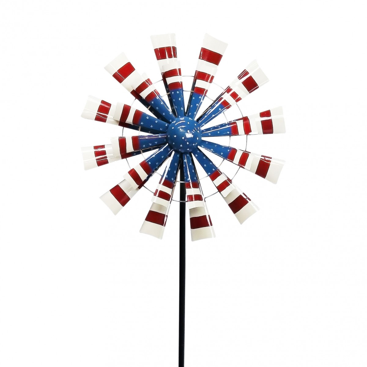 Patriotic Metal Windmill by Alpine Corporation