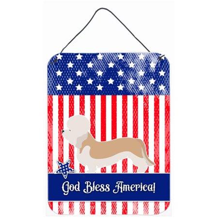 Carolines Treasures BB8393DS1216 Dandie Dinmont Terrier American Wall or Door Hanging Prints - image 1 de 1