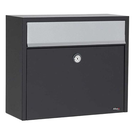 Qualarc Allux Locking Wall Mounted Mailbox (Series Double Mount Locking Mailbox)