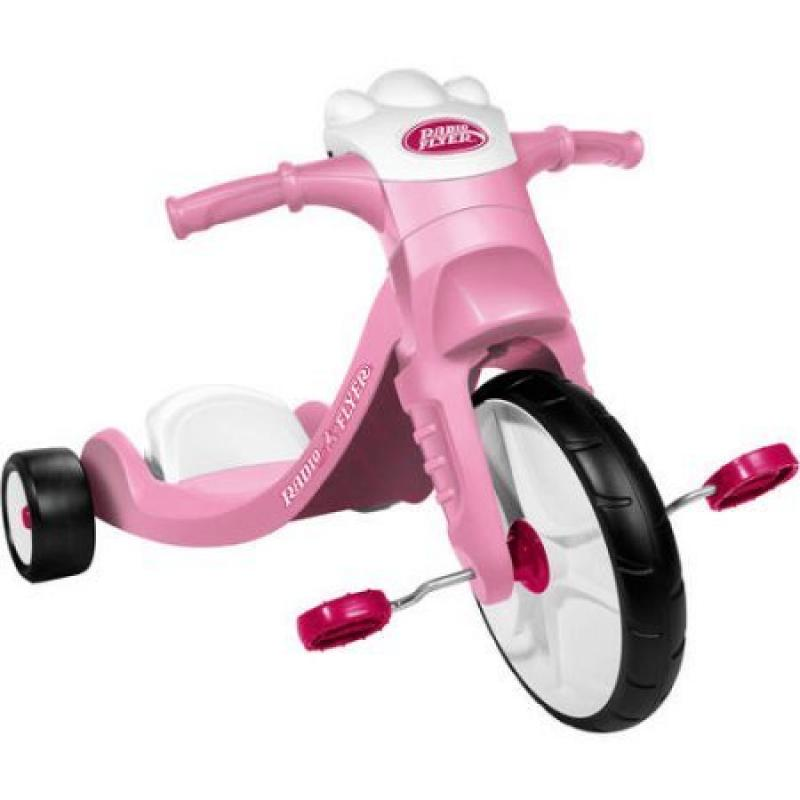 Radio Flyer Lights and Sounds Racer, Pink