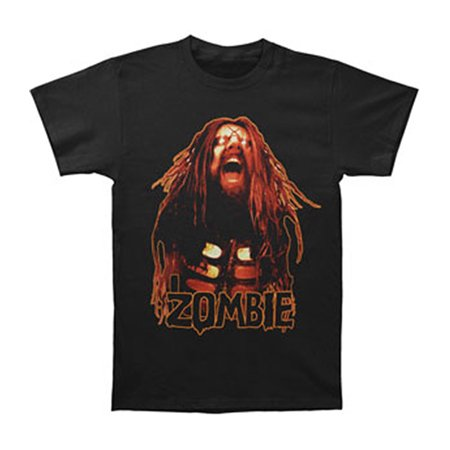 Rob Zombie Men's  Hell On Earth Tour 2011 T-shirt Black (Rob Zombies Halloween 3)