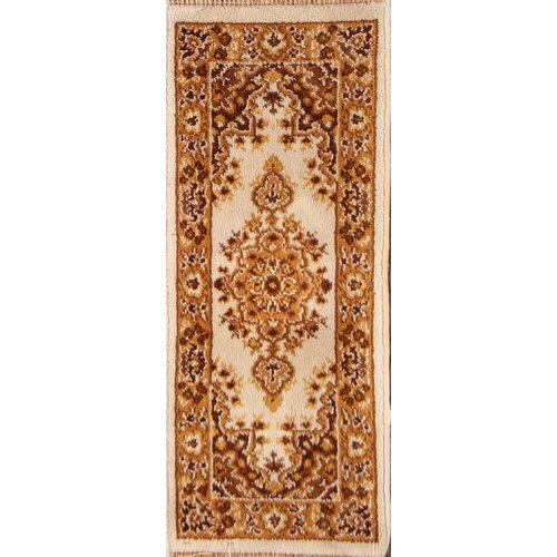 Bloomsbury Market Elkland Tabriz Classical Anatolian Turkish Oriental Wool Beige/Brown Area Rug