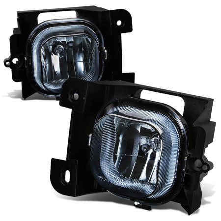 For 2004 to 2005 Ford Ranger Pair Front Bumper Driving Fog Light / Lamps Smoked Lens Left+Right 2004 Ford Ranger Front Bumper