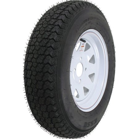 Loadstar Bias Tire and Wheel (Rim) Assembly ST205/75D-15 5 Hole C -