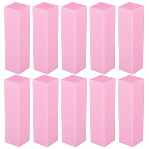 Zodaca 10PCS Pack Nail Art Sanding Files Buffer Block Toe Separator Manicure Pedicure Tools UV Gel Set