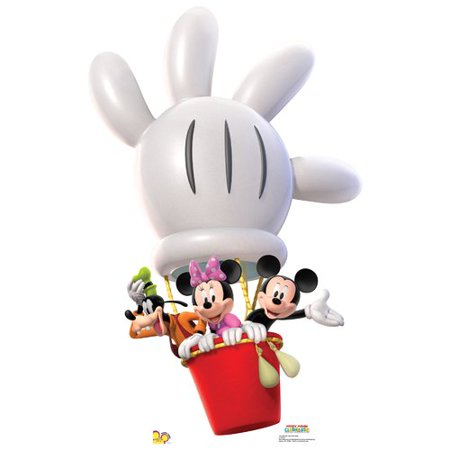Mickey Mouse Cardboard Cutout (Advanced Graphics Disney Mickey Balloon Ride)
