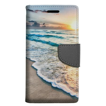 LG Aristo 2 Wallet Case - Sunrise in Mexico Case
