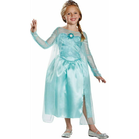 Frozen Elsa Snow Queen Costume (Anna Frozen Costumes For Adults)