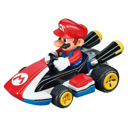 Carrera Go!!! 64033 Nintendo Mario Kart 8 - Mario, 1:43 scale analog slot car By Carrera USA ()