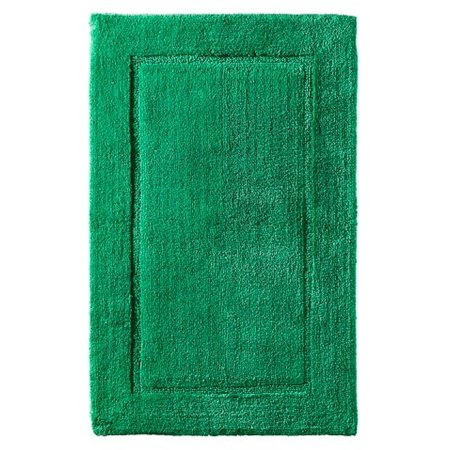 Threshold Plush Perfect Mint Green Botanic Bath Rug Skid Resist Throw Mat 20x